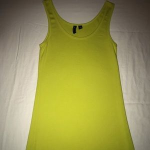 🐲Chartreuse tank top